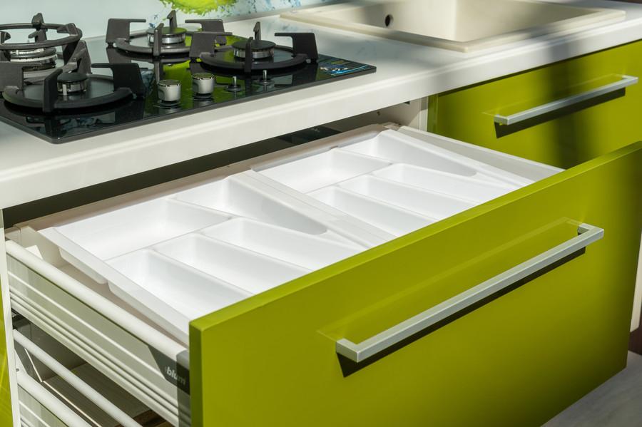 Глянцевые кухни-Кухня МДФ в ПВХ «Модель 53»-фото7