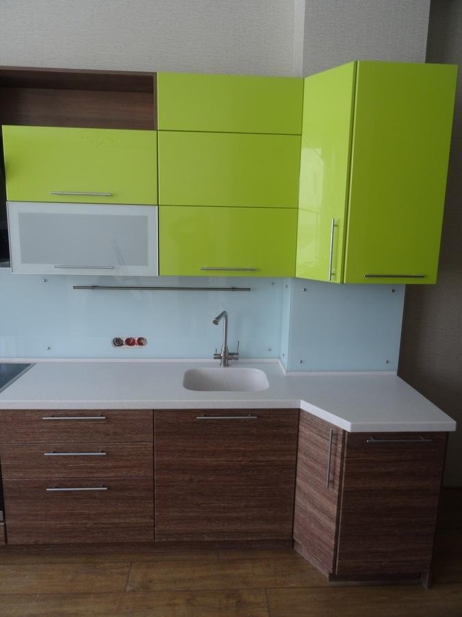 Встроенная кухня-Кухня МДФ в ПВХ «Модель 512»-фото5