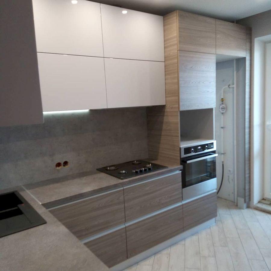 Белый кухонный гарнитур-Кухня из ЛДСП «Модель 653»-фото3