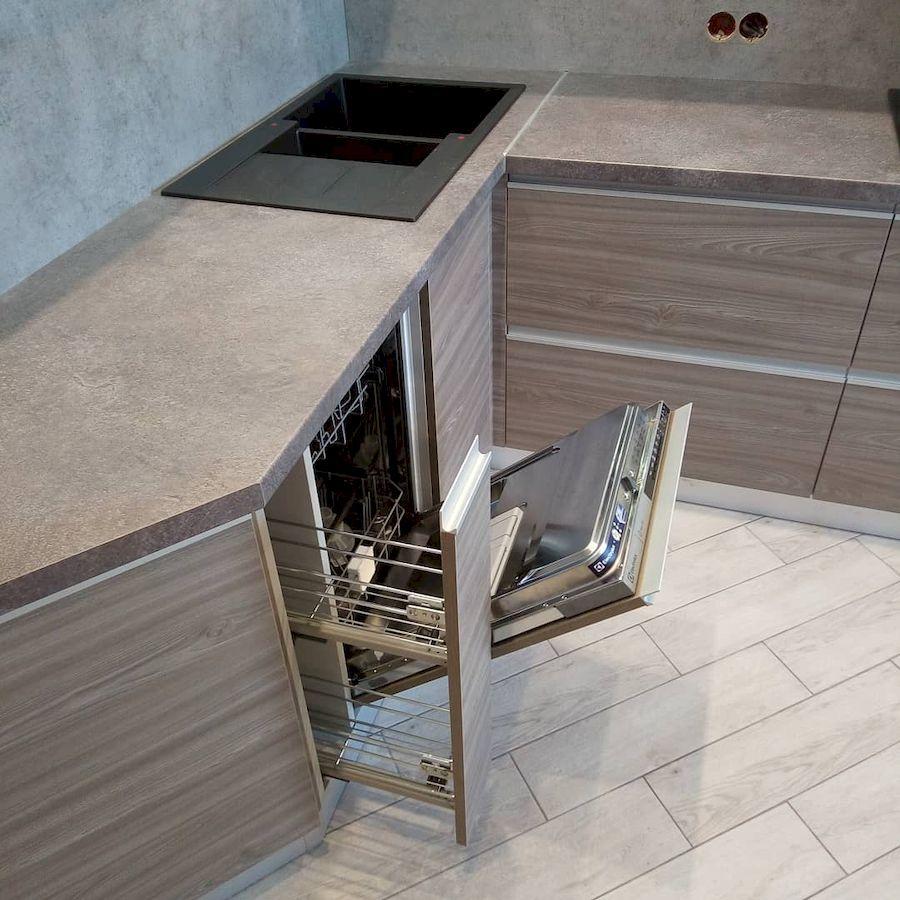 Белый кухонный гарнитур-Кухня из ЛДСП «Модель 653»-фото6