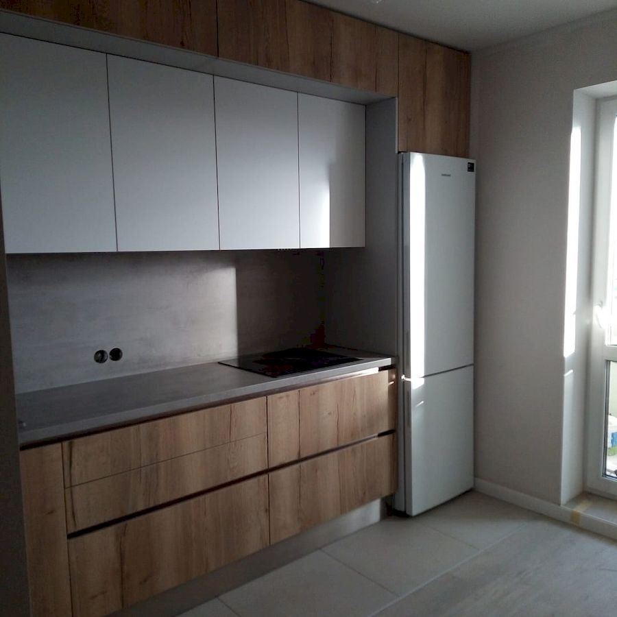 Белый кухонный гарнитур-Кухня из ЛДСП «Модель 651»-фото2