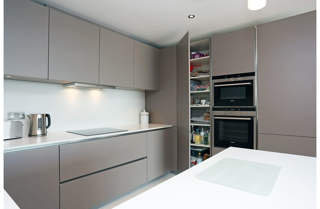 Дорогие и элитные кухни-Кухня МДФ в эмали «Модель 603»-фото4