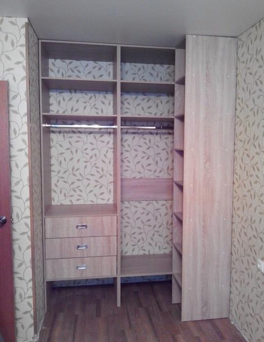 Встроенные шкафы-купе-Шкаф-купе с зеркалом «Модель 116»-фото3