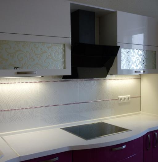 -Кухня МДФ в эмали «Модель 237»-фото25