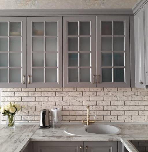 -Кухня МДФ в эмали «Модель 281»-фото1