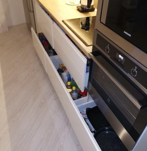 -Кухня МДФ в эмали «Модель 144»-фото9