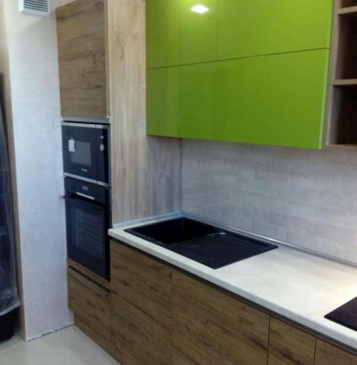 -Кухня из пластика «Модель 379»-фото30