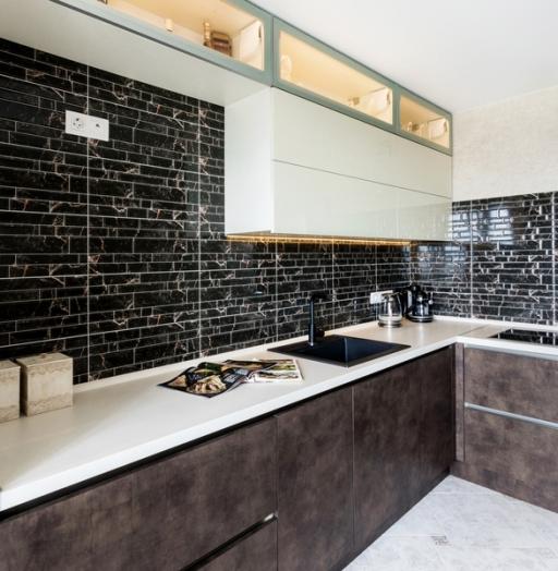 -Кухня из акрила «Модель 412»-фото5