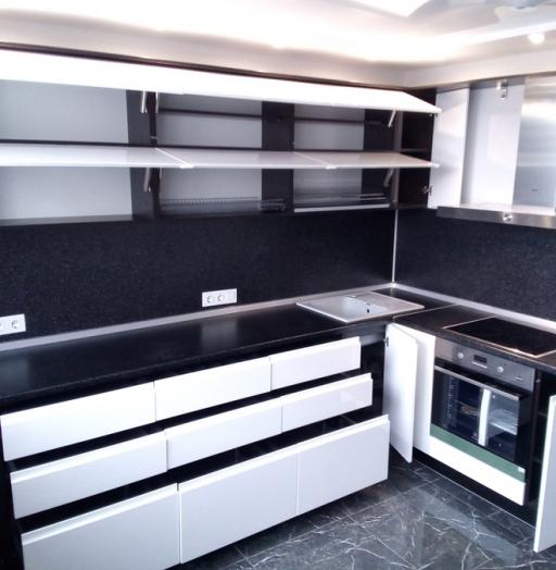 -Кухня МДФ в эмали «Модель 430»-фото29