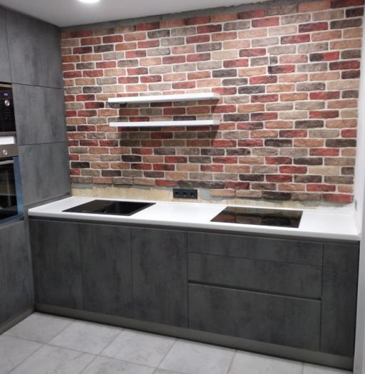 -Кухня МДФ в ПВХ «Модель 442»-фото20