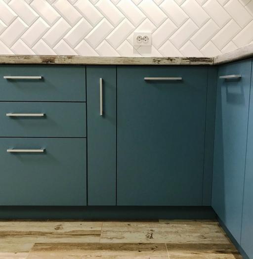 -Кухня из пластика «Модель 373»-фото14