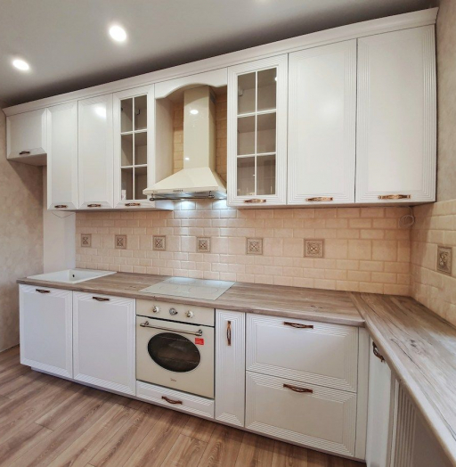 -Кухня МДФ в эмали «Модель 530»-фото25