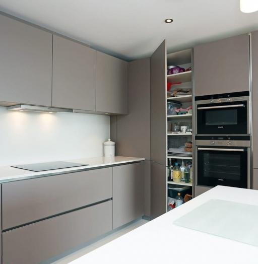Дорогие и элитные кухни-Кухня МДФ в эмали «Модель 603»-фото5