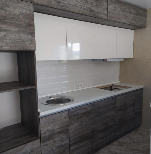 Встроенная кухня-Кухня из ЛДСП «Модель 617»-фото5